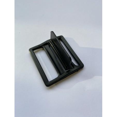 Boucle plastique noire 36 mm