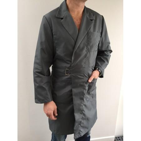 Blouse 0901 en nylon gris