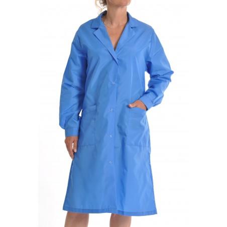 Blouse Classique en nylon bleu nattier