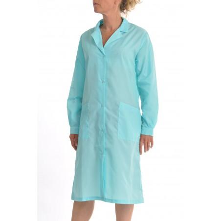 Blouse Classique en nylon turquoise