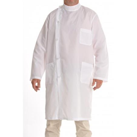 Blouse Kine en nylon blanc