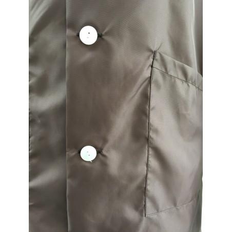 Blouse 22A100 en nylon Marron