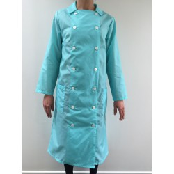 Blouse Amarylis en nylon turquoise
