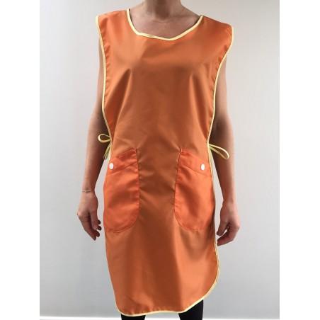 Chasuble Carole en nylon orange