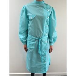 Blouse Marlène en nylon turquoise