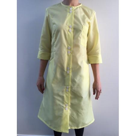 Blouse Anémone en nylon jaune