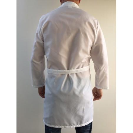 Blouse 0901 en nylon blanc