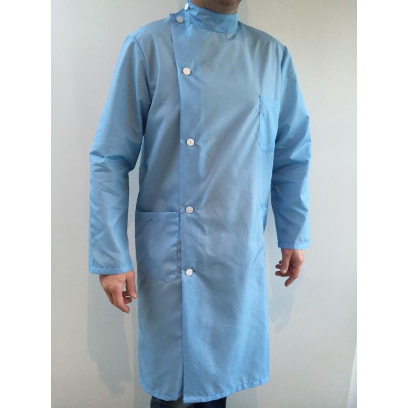 Blouse Kine en nylon bleu ciel