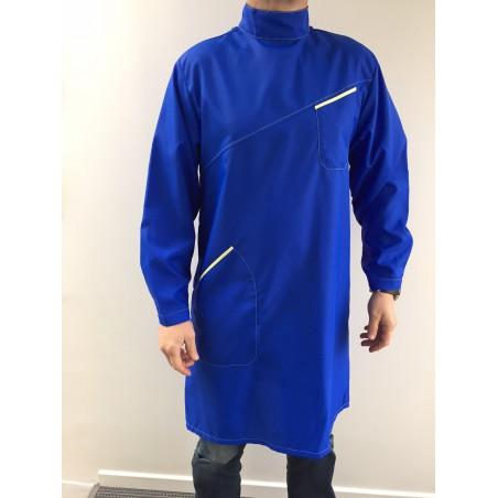 Blouse Emmanuel 22C04-1 en nylon bleu bugatti