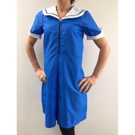 Blouse robe Maria en nylon bleu bugatti