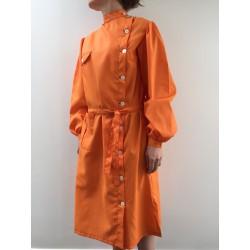 Blouse Marlène en nylon orange