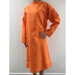 Blouse Noèmie en nylon orange